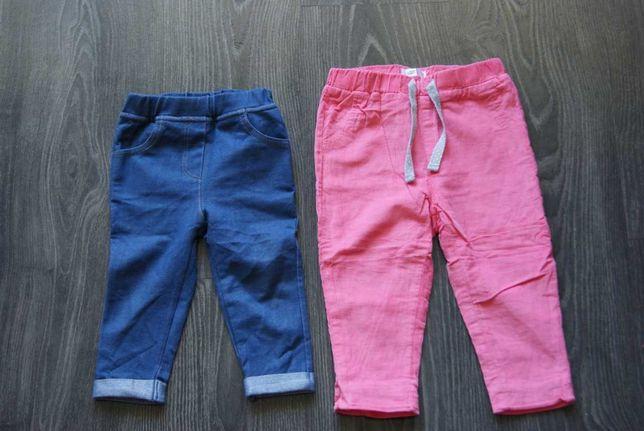 Sprzedam spodnie dziewczęce rozmiar 80