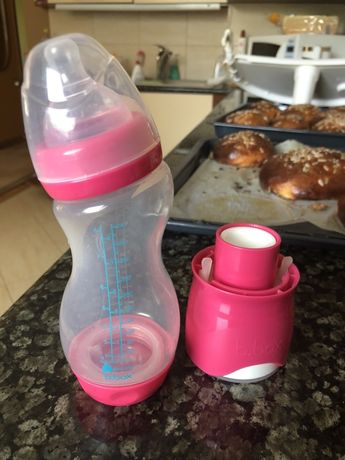 Butelka b.box dla niemowląt z dozownikiem na mleko modyfikowane 240ml
