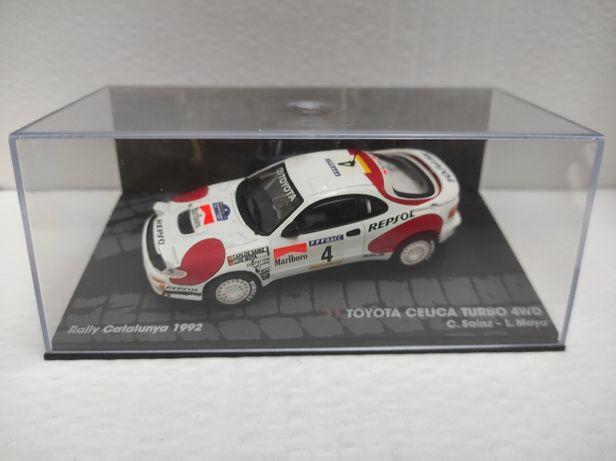Miniatura 1/43 - Toyota Celica Turbo 4WD Rally Catalunya 1992