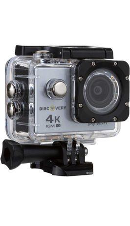 Экшн-камера Discovery XQ2 UHD 4K R Silver (dxq2s)