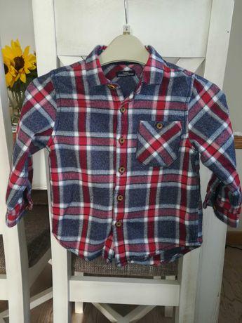 Koszula flanelowa Next rozmiar 92