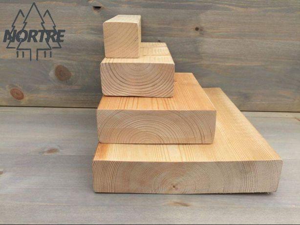Drewno konstrukcyjne C24,kantówka 45x45mm,Skandynawska.