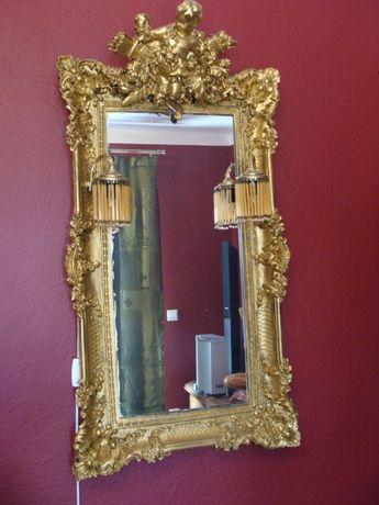 Przepiękne stare lustro okazja