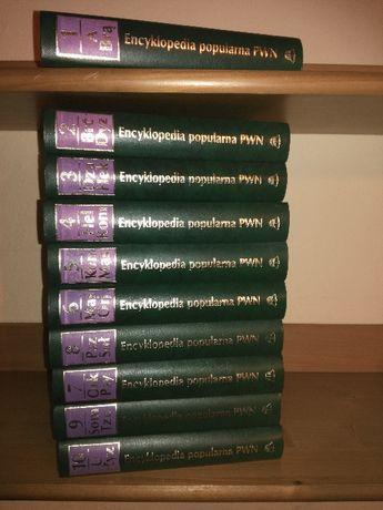 encyklopedia pwn z 1997, 10 tomów