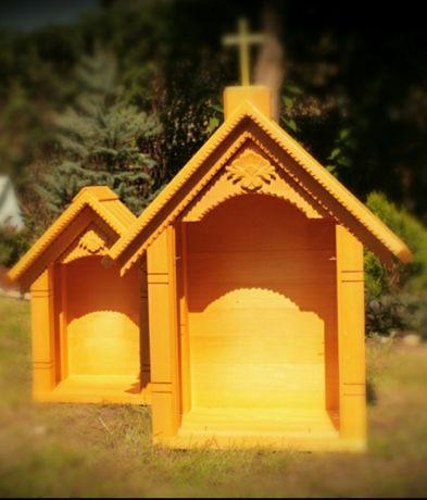 Kapliczka drewniana (ludowa)