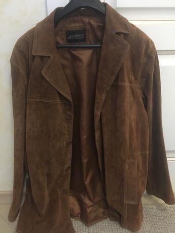 Куртка мужская замшевая 56-58 р весна-осень