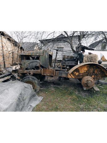 Продаю саморобний трактор на металолом