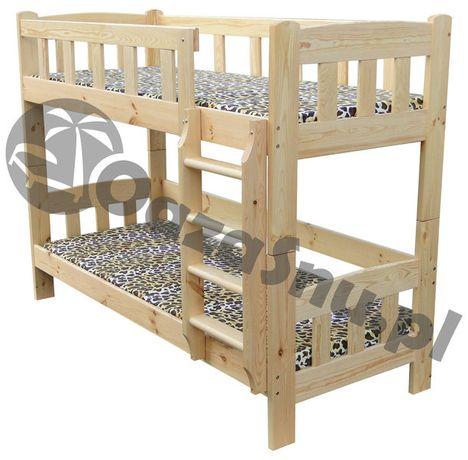 IDYLLA 90x200 łóżko piętrowe sosnowe bardzo mocne dowolny wymiar