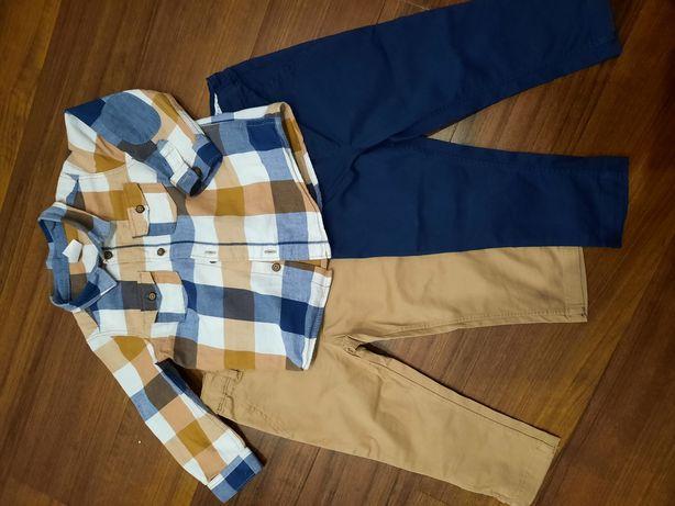 Camisa + 2 calças