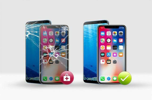 Wymiana Wyświetlacza Apple Iphone X XS XS Max