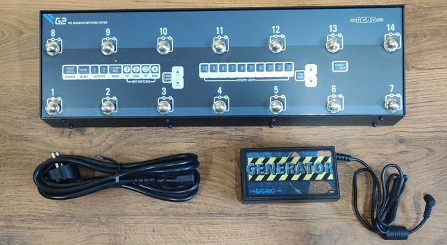 GigRig G2 Effects Pedal Switching System
