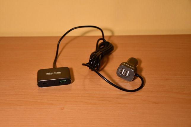 Ładowarka Nillkin PowerShare Car CHARGER QC3.0 3xUSB USB-C!!