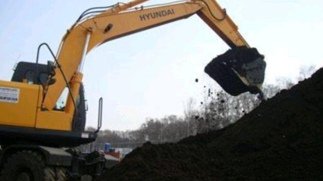Чернозем высокого качества доставка автомобилями Зил/КамАЗ