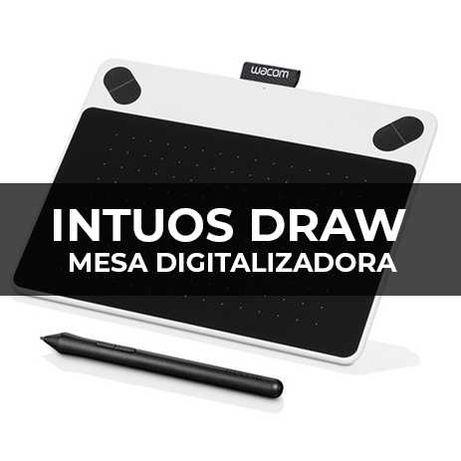 Mesa Digitalizadora - Wacom Intuos Draw - Pouco Uso
