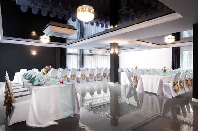 Organizacja wesele, piękna sala weselna