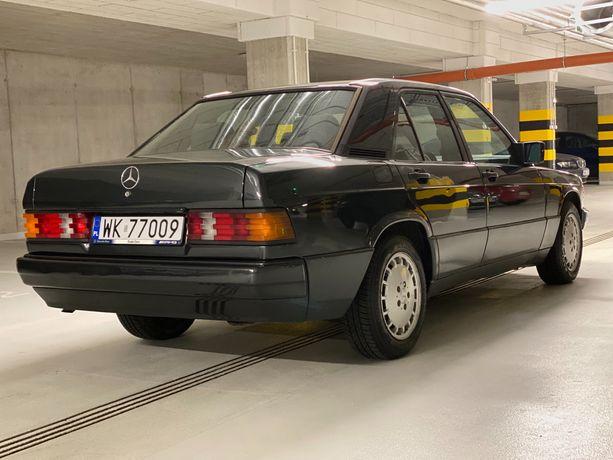 Mercedes-Benz W201 190D 2.5 Diesel 1990 5 bieg manual Zadbany