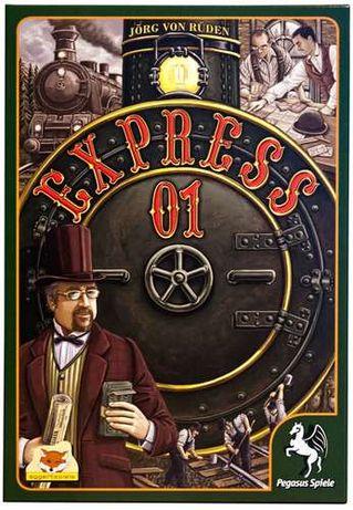 Wspaniała na prezent, towarzyska, kolejowa gra planszowa - Express 01