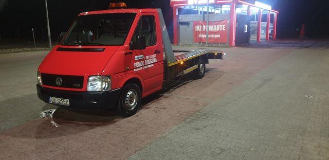 Vw LT35 pomoc drogowa   autolaweta