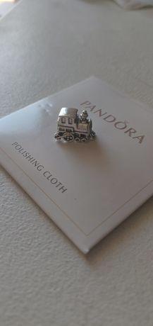 Charms do bransoletek Pandora pociąg travel podróż