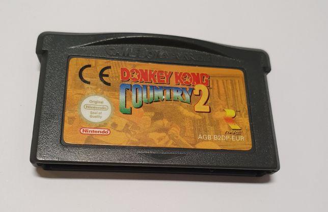 Gra Gameboy Advance Donkey Kong Country 2
