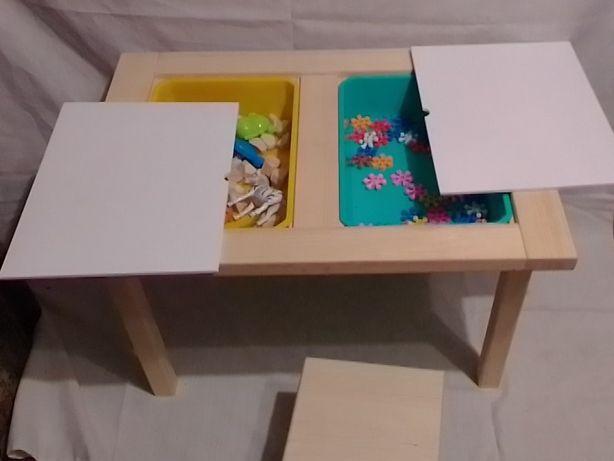 Детский деревянный столик для творчества .