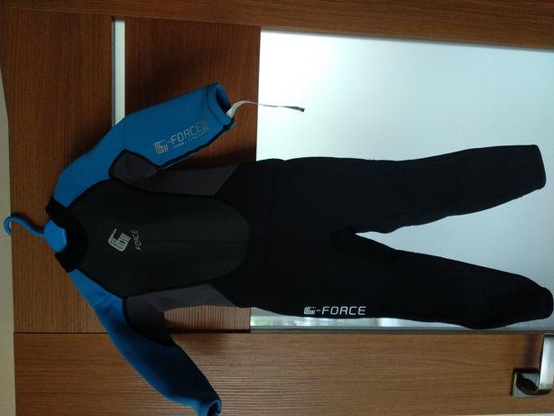 Pianka GUL G-Force Junior T3 długi rękaw i nogawka, rozm. 104-109 cm
