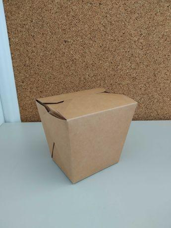 Box de comida em cartão