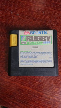 Sega EA sports Rugby world cup 1995