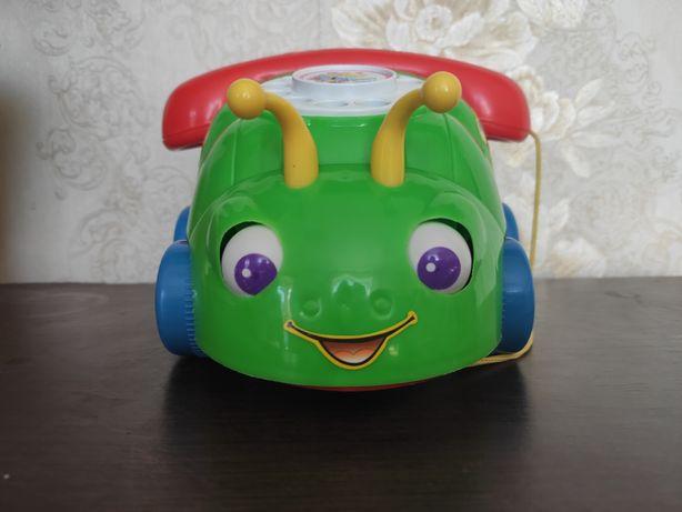 Телефон машинка каталка