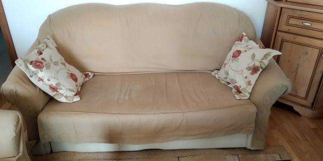 Sofa trzyosobowa rozkładana, z funkcją spania
