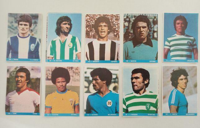 13 CROMOS de Futebol ( Antigos )