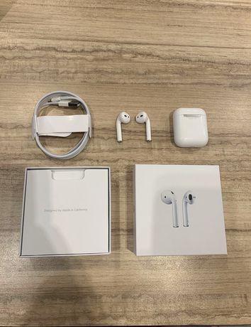 AirPods 2 pro Wireless charging купить беспроводные наушник Apple Киев