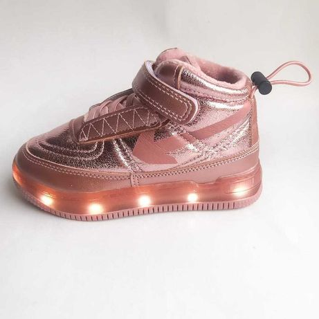Демисезонные ботинки для девочки 26-31 Jong Golf подошва с подсветкой