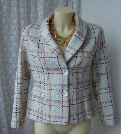Шерстяной пиджак жакет s-m (44) винтаж ретро