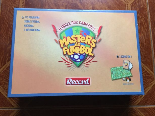 Jogo de tabuleiro - Masters do Futebol