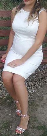 Biała sukienka Mohito Celebration 40