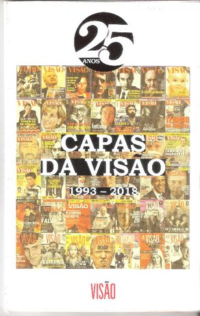 25 Anos Capas da Visão 1993 a 2018