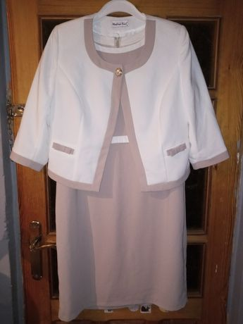 Komplet sukienka +zakiet Modern Line