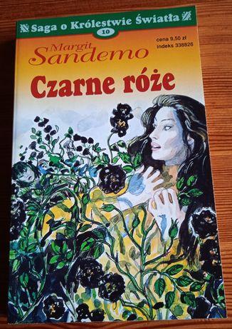 Książki Margit Sandemo - Czarne róże i Pewnej deszczowej nocy