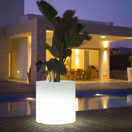 vaso com luzes