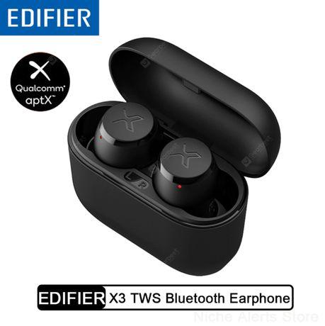 EDIFIER X3 TWS БЕСПРОВОДНЫЕ НАУШНИКИ блютуз Bluetooth гарнитура aptx