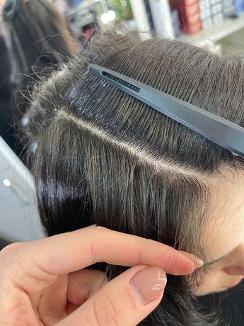 Наращивание волос Житомир,Кератин,Ботокс для волос,Аиртач,Шатуш,Балояж