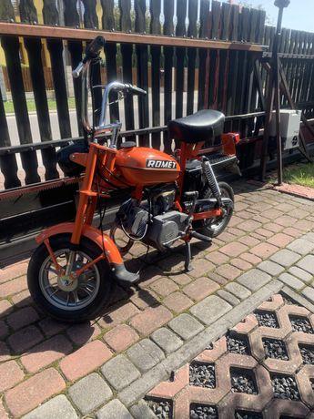 Motorynka romet pony-m2 1983 z papierami(plomba na silniku)