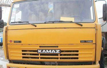 Камаз 65116 с тентованным полуприцепом.