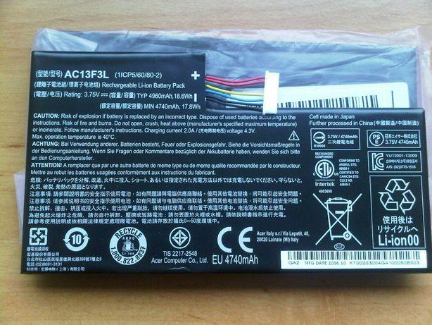 Bateria Nowa AC13F3L , Acer Iconia Tab A1-A811 , AC13F8L