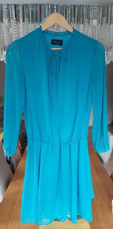 Niebieska sukienka MOHITO rozmiar 38