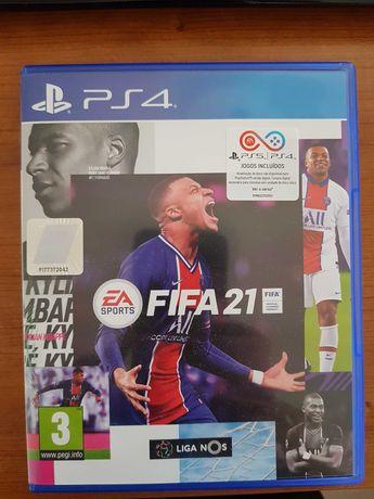 Jogo FIFA21 - PS4