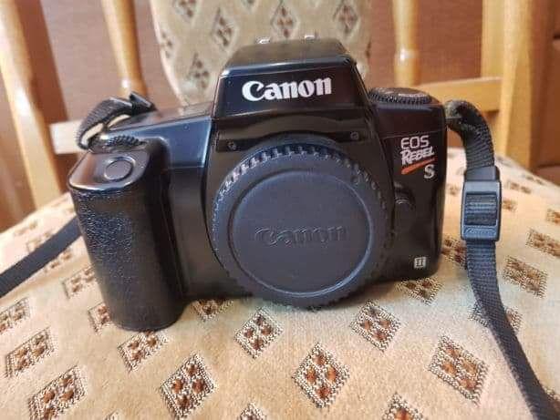 Aparat fotograficzny analogowy Canon eos rebel s II 2 lustrzanka