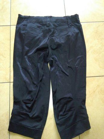 EXTRA Spodnie czarne rybaczki r.M jak nowe guziki jak nowe wysyłka