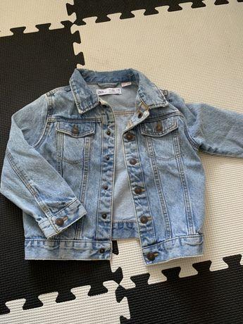 Jeansowa Katanka 104 zara kurtka jeansowa